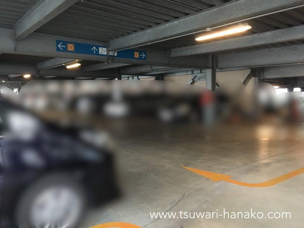 三井ガーデンホテルプラナ東京ベイ駐車場