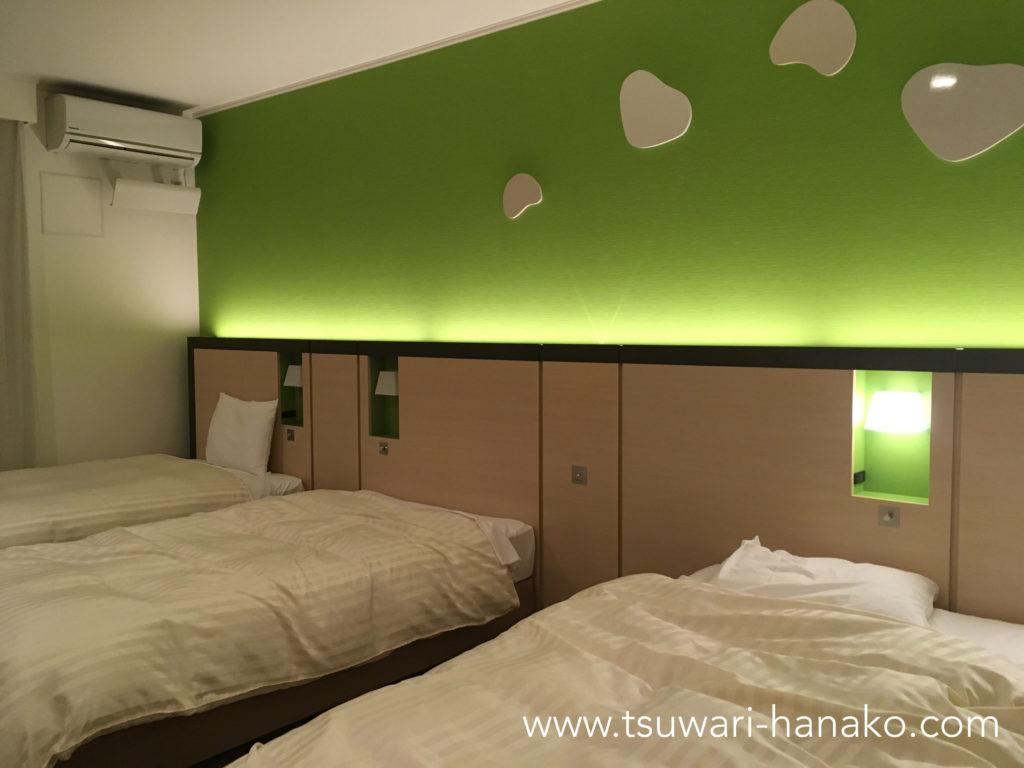 三井ガーデンホテルプラナ東京ベイバルコニーフォース客室