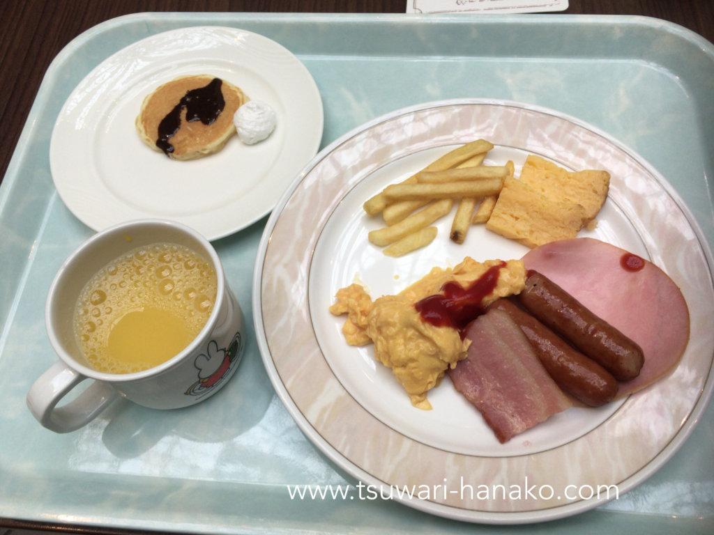 東京ベイ舞浜ホテルファインビュッフェの子供朝食