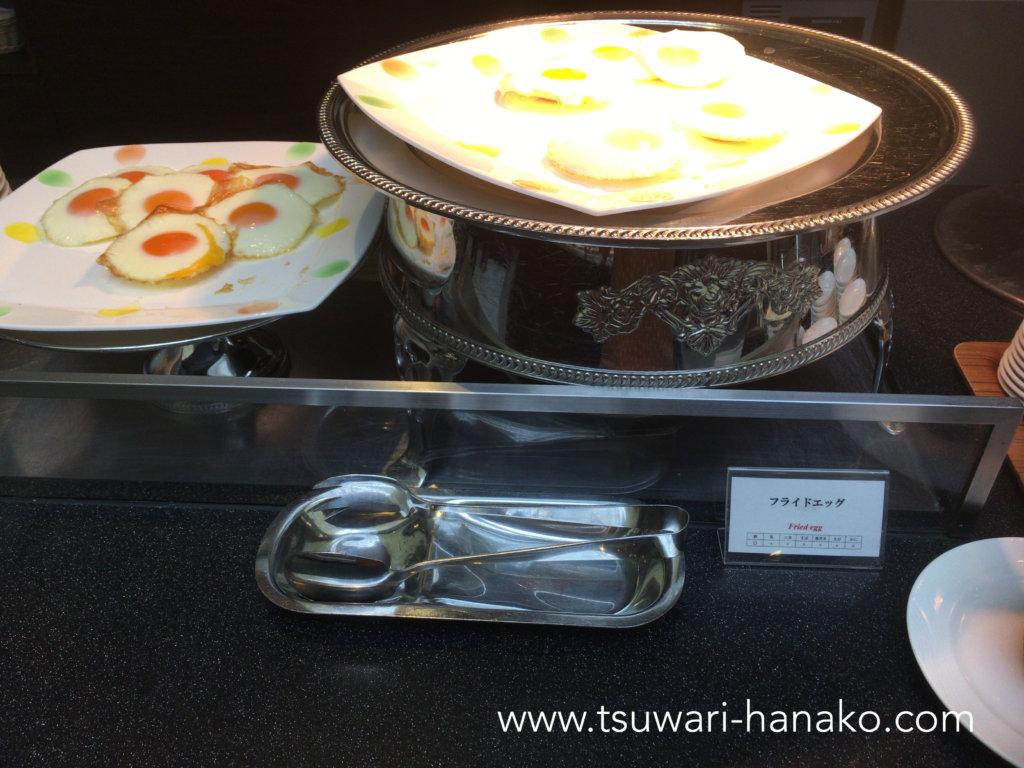 東京ベイ舞浜ホテルファイン・ビュッフェのフライドエッグ