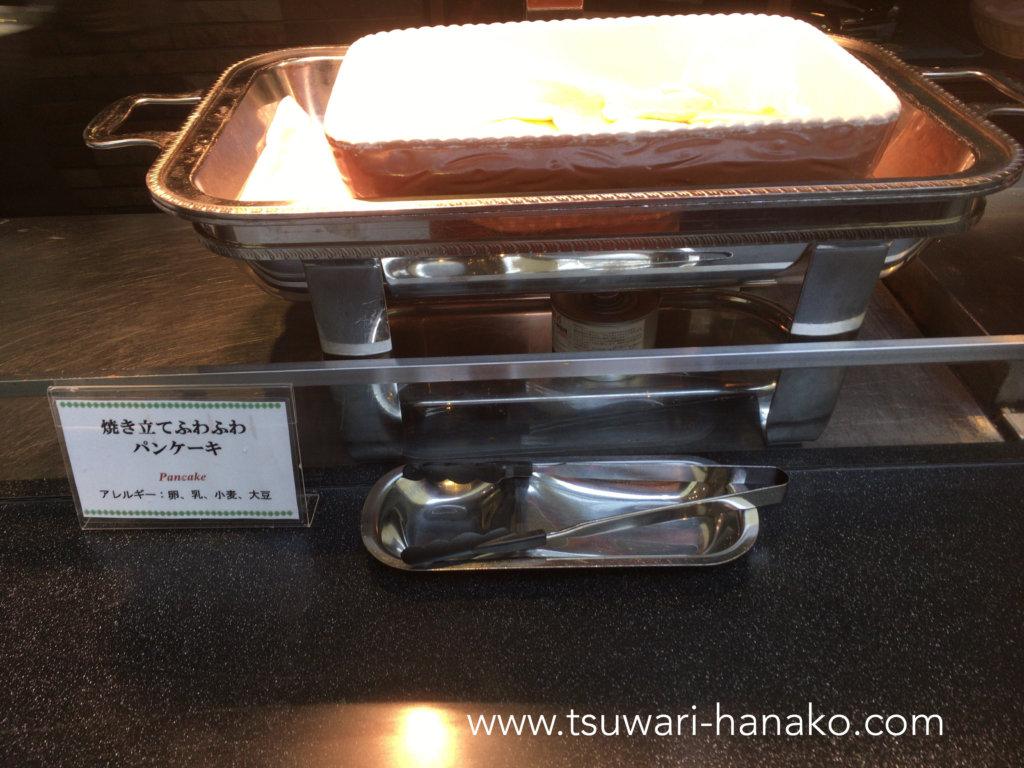 東京ベイ舞浜ホテルファイン・ビュッフェのパンケーキ