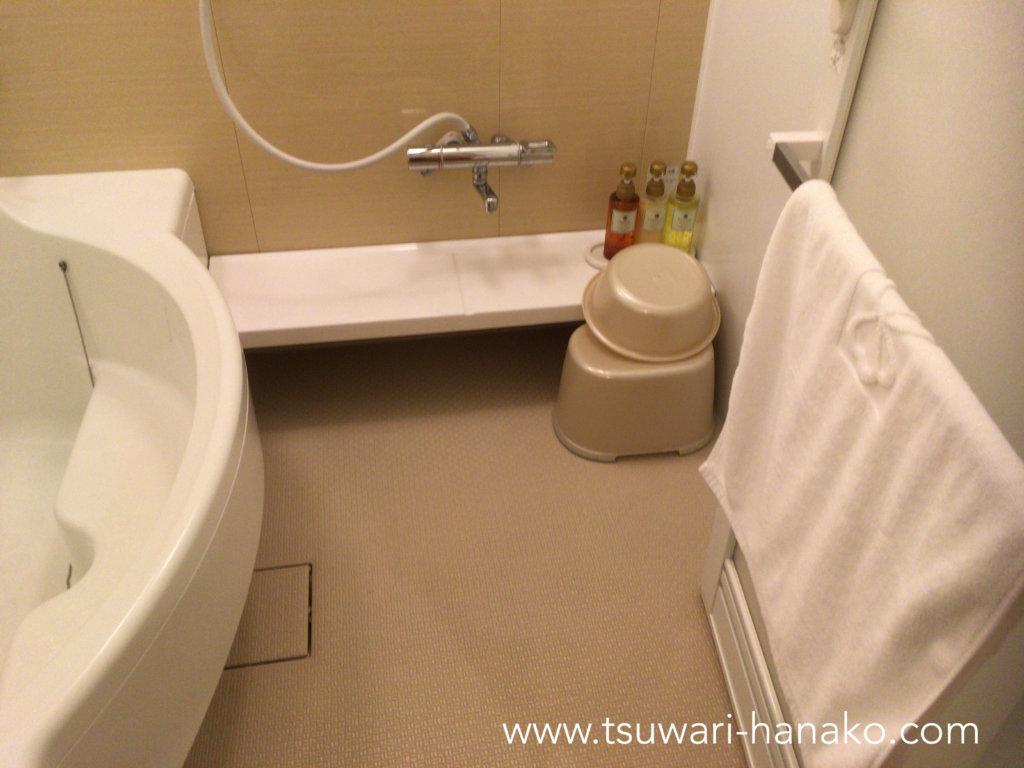東京ベイ舞浜ホテルバスルーム洗い場