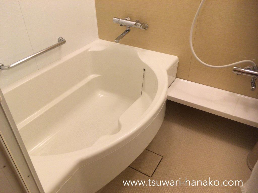 東京ベイ舞浜ホテルシンフォニールームのバスタブ