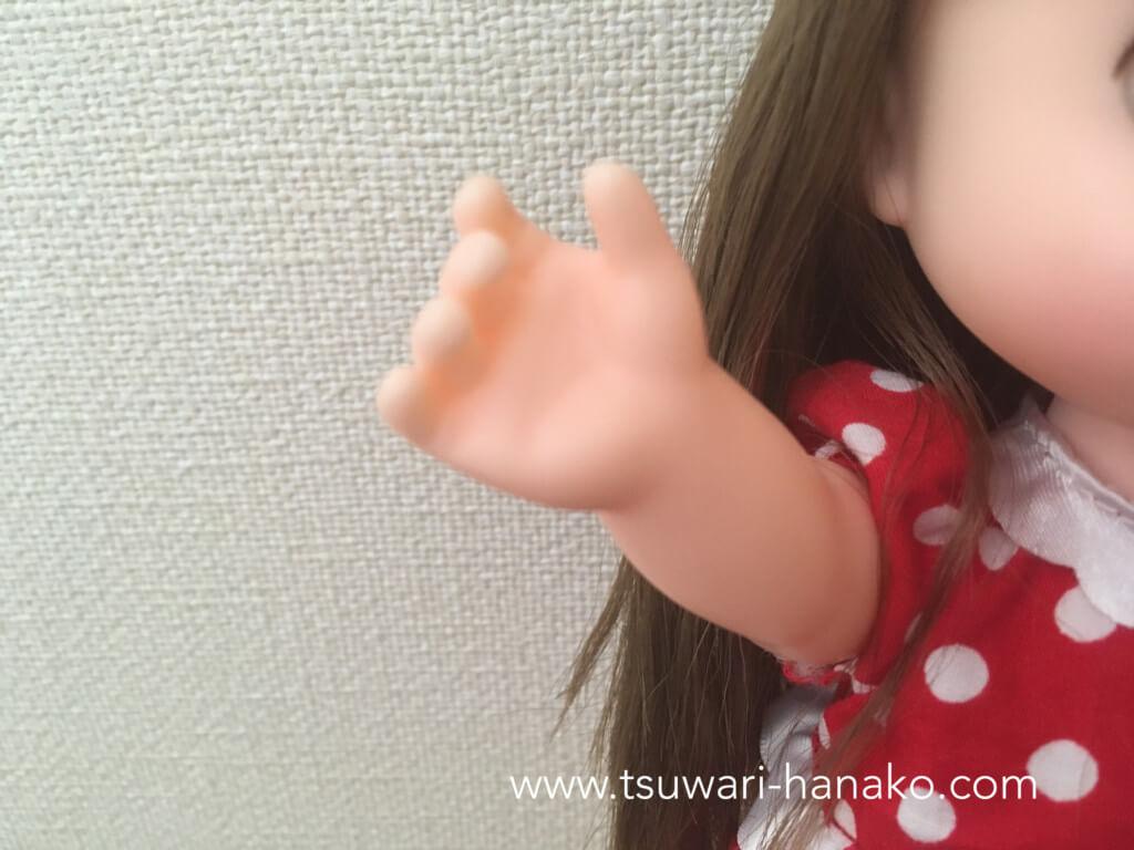 ソランちゃんの手