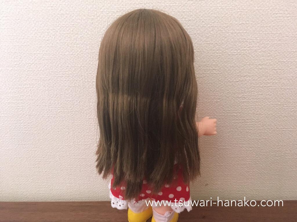 レミンちゃんの長い髪