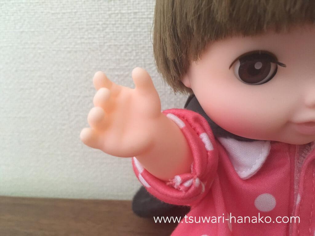 レミンちゃんの手