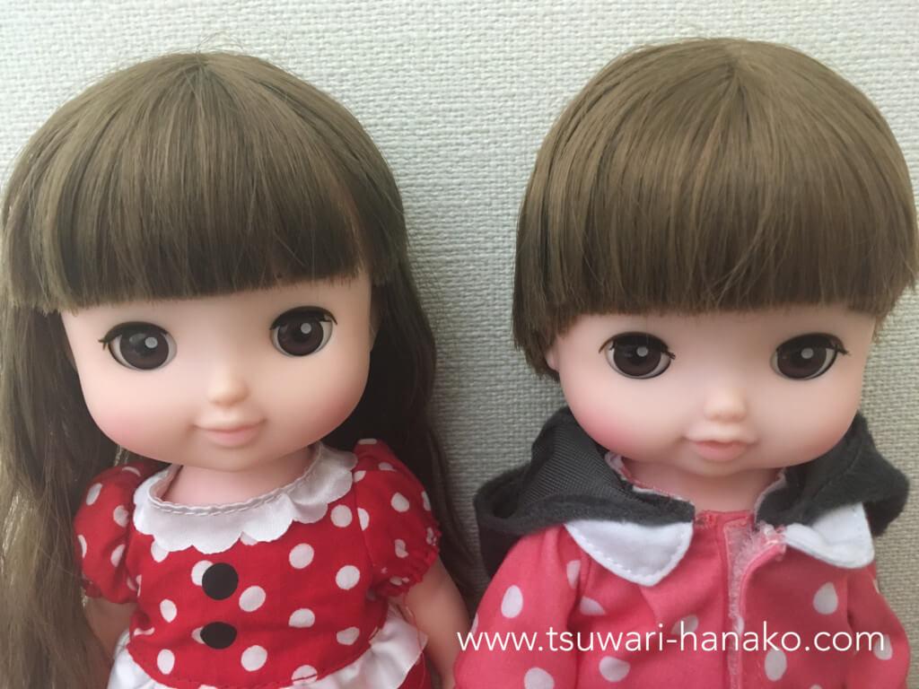レミンとソランの顔と表情比較