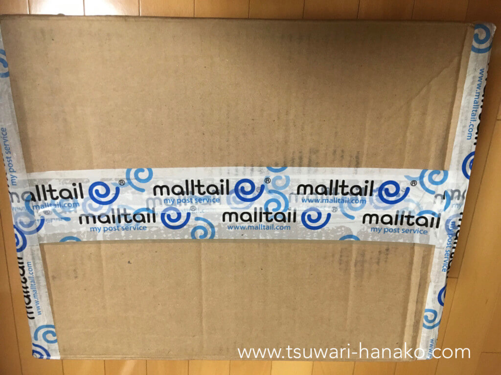 mailtailが簡易検品した段ボール