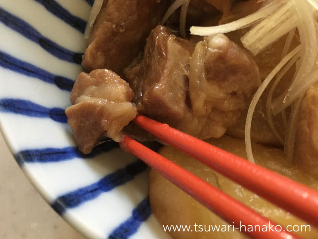 箸で切れる肩ロース肉